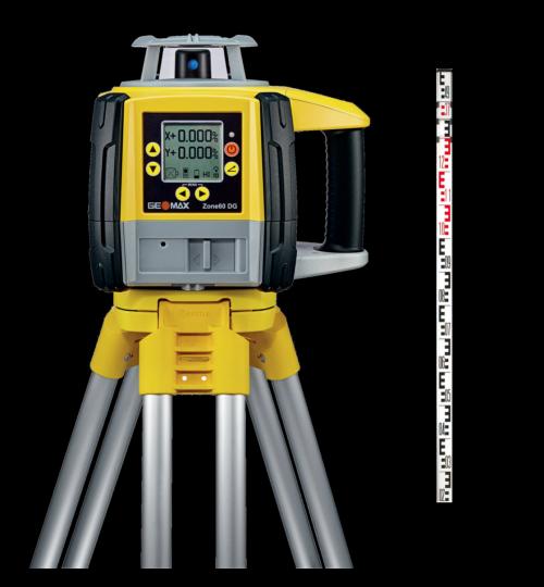 Pack GeoMax Zone60 DG numérique + Trépied + Mire