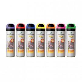 12 Traçeurs Fluo T.P jaune