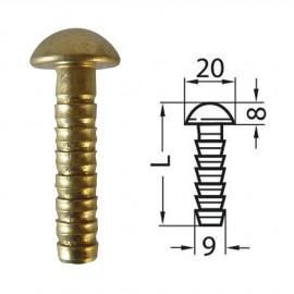 Repères 11D/2 - 50mm - Diam : 20mm et 10mm