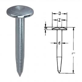 Repères 10ZS sans inscription. L : 100mm - Diam : 9mm