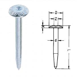 Repères 10ZS avec inscription ARPENTAGE. L : 55mm - Diam : 9mm