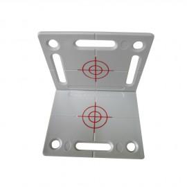 Plaquette grise de mesure angulaire RS100 grise