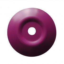 Rondelles galbées à graver violet