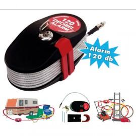 Câble sonore antivol 20m