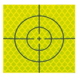 Cibles réfléchissantes jaunes - 60x60mm