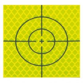 Cibles réfléchissantes jaunes - 40x40mm