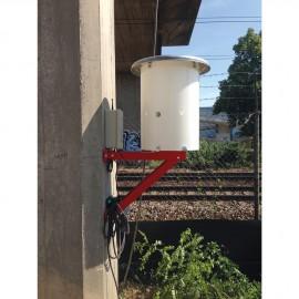 Coque de protection anti-vandalisme sur pilier
