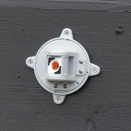 Boîtier rotatif pivotable et mini prisme gris RSMP390 magnétique