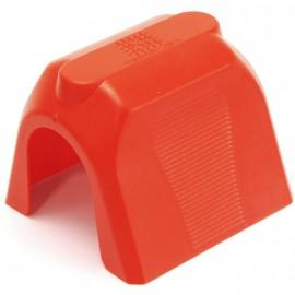 Cache de protection magnétique RSPC10M rouge par lot de 10 unités
