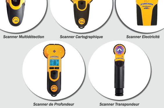 Nouvelle Gamme de Scanners & Détecteurs