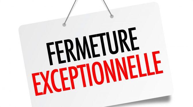 FERMETURE EXCEPTIONNELLE DE 7 MAGASINS TOPOCENTER LES 17 & 18 JUIN !