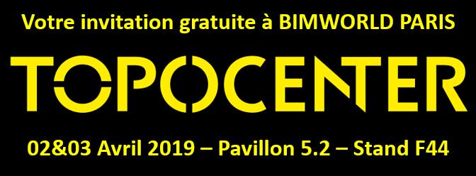 Votre invitation gratuite à BIM WORLD !