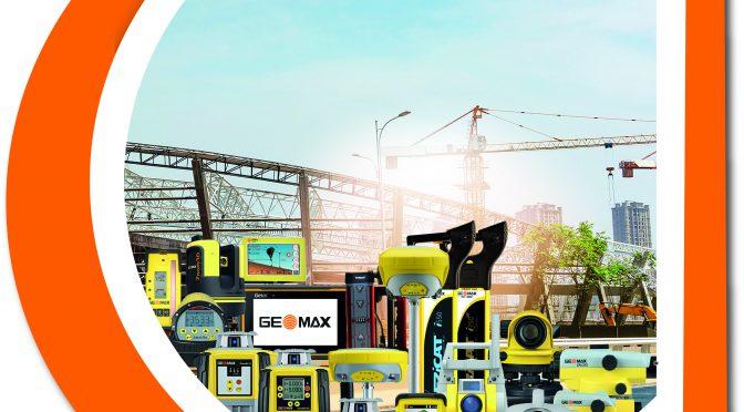 GeoMax : La nouvelle gamme travaux publics de TOPOCENTER !