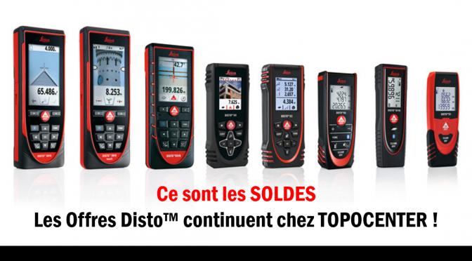 Les offres Disto™ continuent jusqu'au 31 Août 2019 !