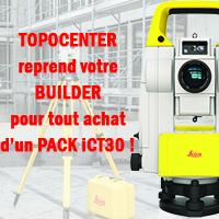 Optez pour l'iCT30 : à moins de 16 500€ HT* avec la reprise de votre Builder !